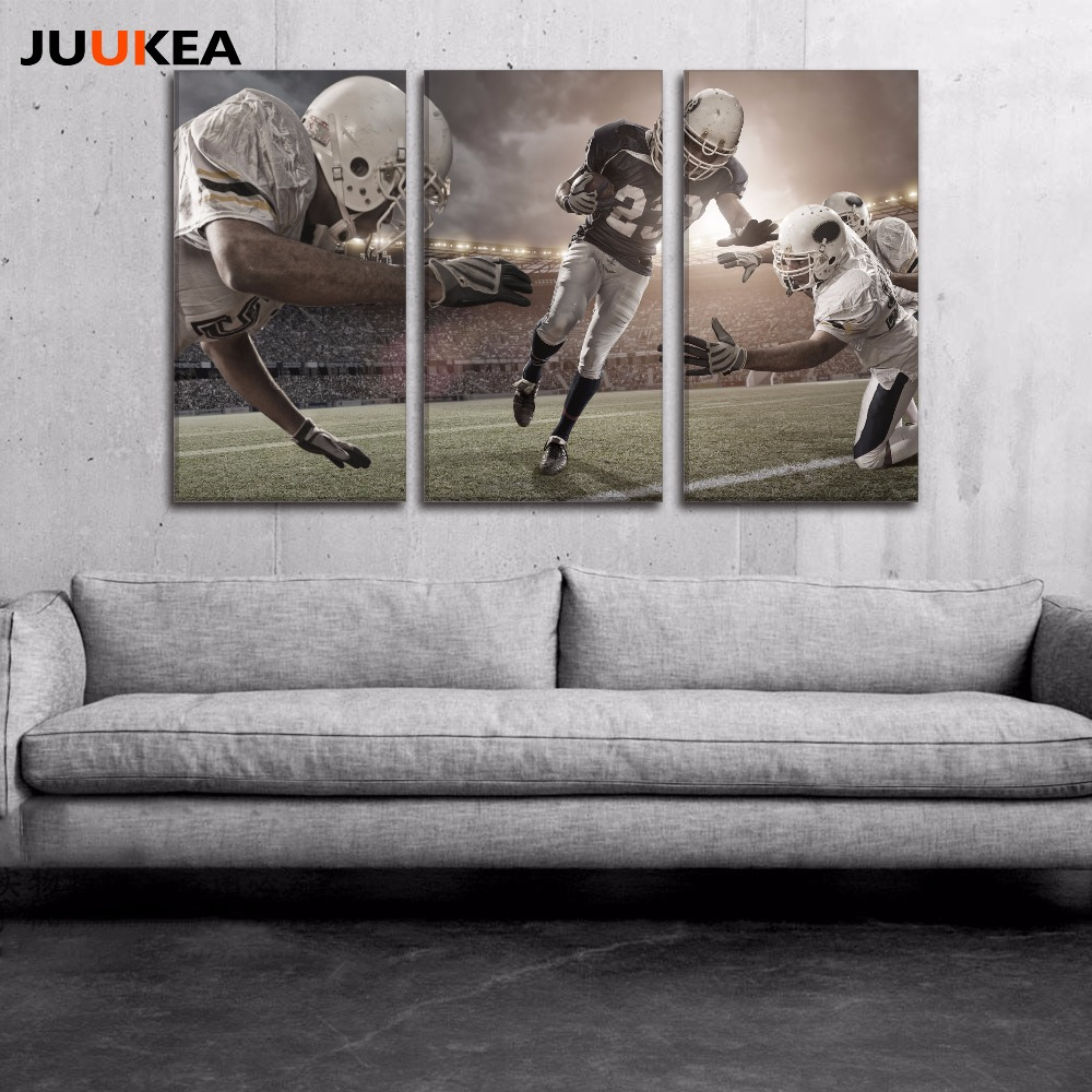 Online kopen wholesale football pictures for wall uit china ...
