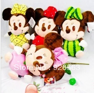 free ship promotion mickey mouse plush toys for babies children funny stuffed animal mickey mouse toys boys girls christmas gift