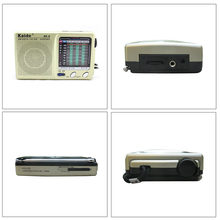 New Mini FM Radio Portable Pocket  Broadcasting Compact Stereo / LW / SW / MW DSP Receiver KK-9