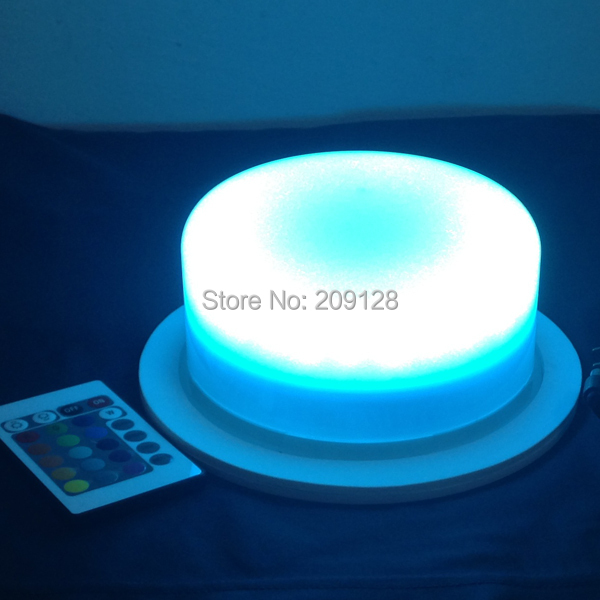 175mm multi color led light with remote controller(China (Mainland))