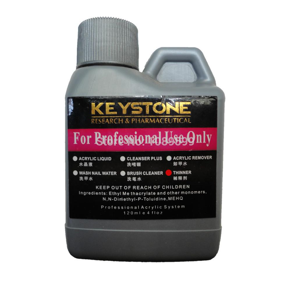 120ml Professional Nail Thinner /Acrylic Remover/Acrylic Liquid /Gel Nail Polish Remover/UV Gel Remover/Wash Nail Water(China (Mainland))