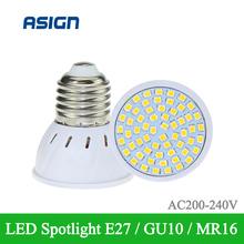 Buy Hot Lampada 48led 60led 80led LED Lamp 2835 E27 220V Ampoule LED Spotlight GU10 Bombillas LED Bulb MR16 Lamparas Spot light for $1.48 in AliExpress store