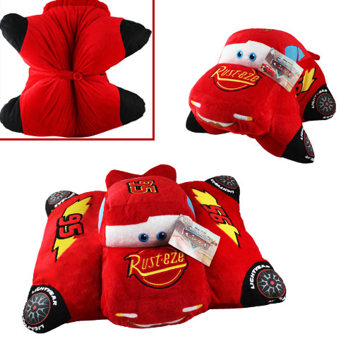 "FREE SHIPPING Animation Cartoon COOL ! Pixar Cars 18"" Soft Pillow Cushion Soft Plush Doll Toy(China (Mainland))"