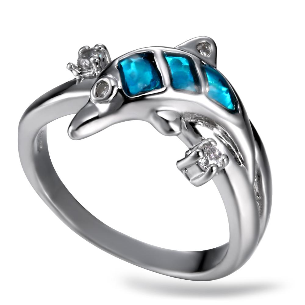 line Get Cheap Dolphin Engagement Rings Aliexpress