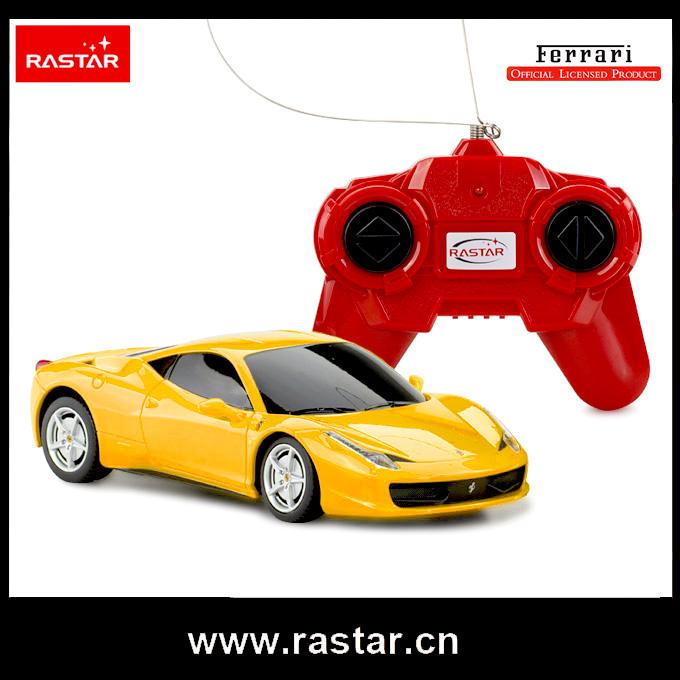 Rastar licensed 1/24 mini remote control car Ferrari 458 Italia rc drift remote control toys car 46600(China (Mainland))