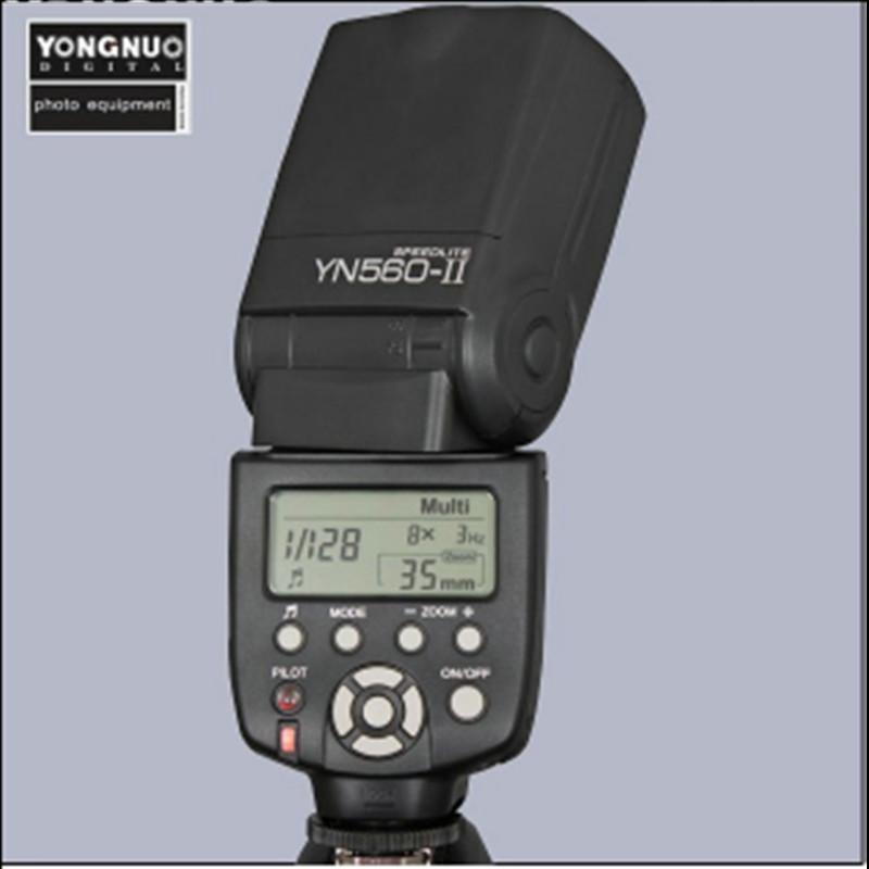 NEW Hot sale 2015 New Yongnuo YN-560 II Flash Speedlite for Canon Nikon Pentax Olympus DSLR Cameras YN-560II