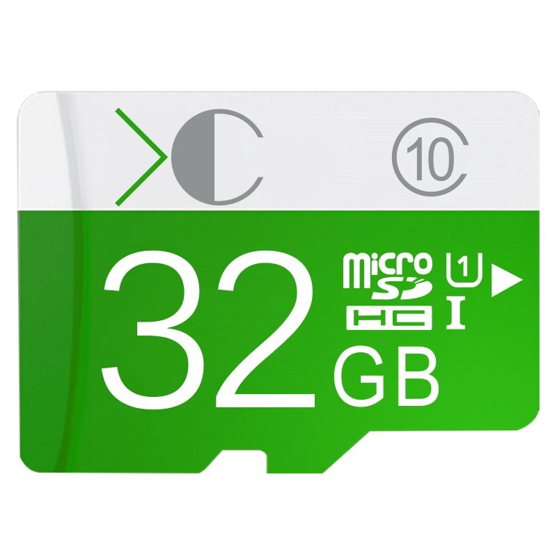 Green micro sd card TF card 32gb class 10 Real capacity 4GB 8GB 16 GB 32 GB 64GB memory cards for Phone/Tablet/Camera(China (Mainland))