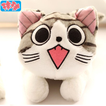 20cm cheese cat(2 pieces/lot) , sweet cat owners Totoro doll plush toy doll birthday gift pillow
