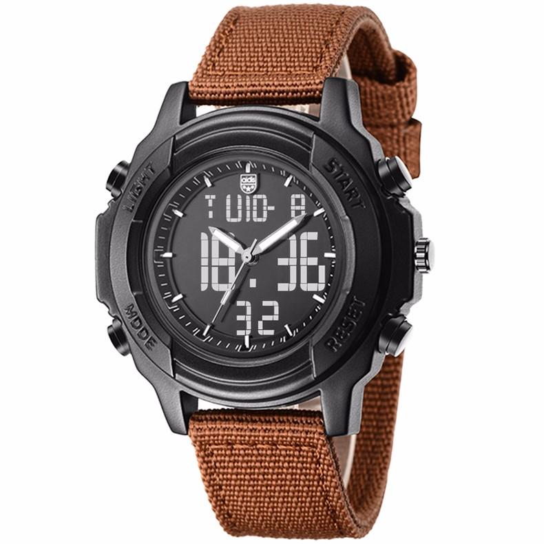 Мода Военных Водонепроницаемый СВЕТОДИОДНЫЙ Кварцевые Мужские Часы Женщины Top Brand Студент Открытый Спортивные Часы Электронные Наручные Часы Relojes
