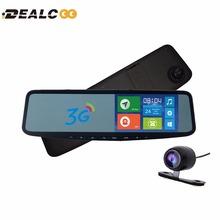 Dealcoo 5' IPS Car GPS Navigation Mirror Bluetooth Android 8GB Car DVR Rearview Mirror Monitor navigators automobile Google maps(China (Mainland))