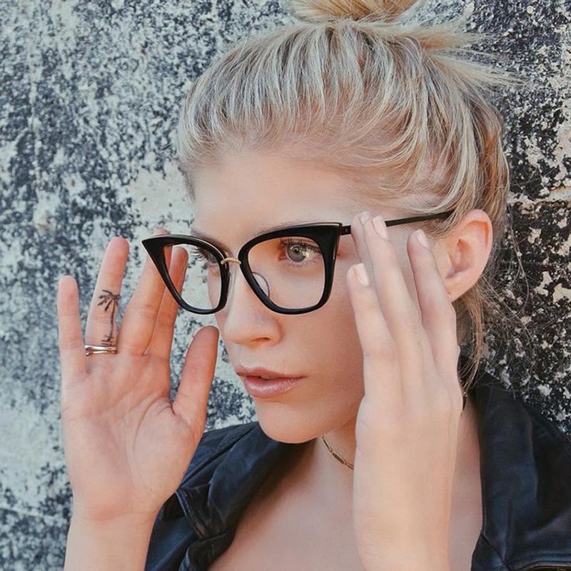 DRESSUUP 2016 New Cat Eye Sunglasses Women Brand Designer Vintage M nail Eyeglasses Fashion Sun Glasses Oculos De Sol Feminino(China (Mainland))