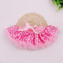 Bow Saias Ruffle Girls Skirt  Leopard Tutu Skirts Kids Chiffon Fluffy Pettiskirts Clothes 2016 Summer Style Women Clothing NEW(China (Mainland))