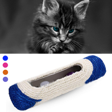 1 pcs Cat Scratch Roller Three Ball Ring Sisal Scratching Pad Madness Cat Toy cat playing supplies pet ball dog toy S2(China (Mainland))