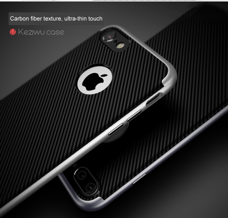 For Apple iPhone 7 7 Plus Luxury Phone Cases PC frame+silicone TPU hybrid Phone back Cover Coque iPhone 7/7plus phone shell