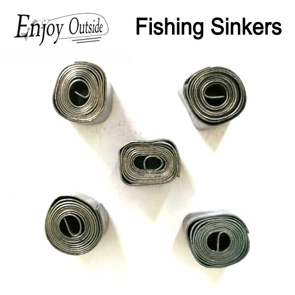3Pcs/lot Flexible Lead Sheet Ring Lead Sinker for fly fishing sinkers Fishing Accessories Fishing Tackle(China (Mainland))
