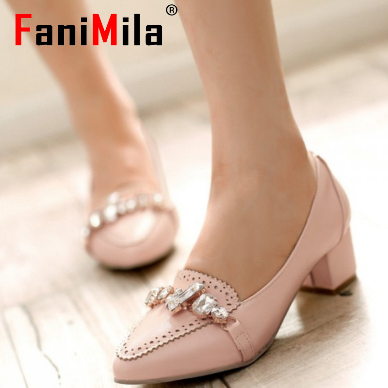 women high heel shoes platform sexy lady party quality footwear brand fashion heeled pumps heels shoes size 32-45 P17356