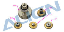 Trex DS615S Servo Gear Set Align HSP61503 Align trex parts Free Shipping with Tracking
