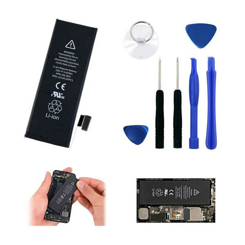 New 100% original OEM 1440mAh Li-ion Battery &Tool kit for Apple iPhone 5(China (Mainland))
