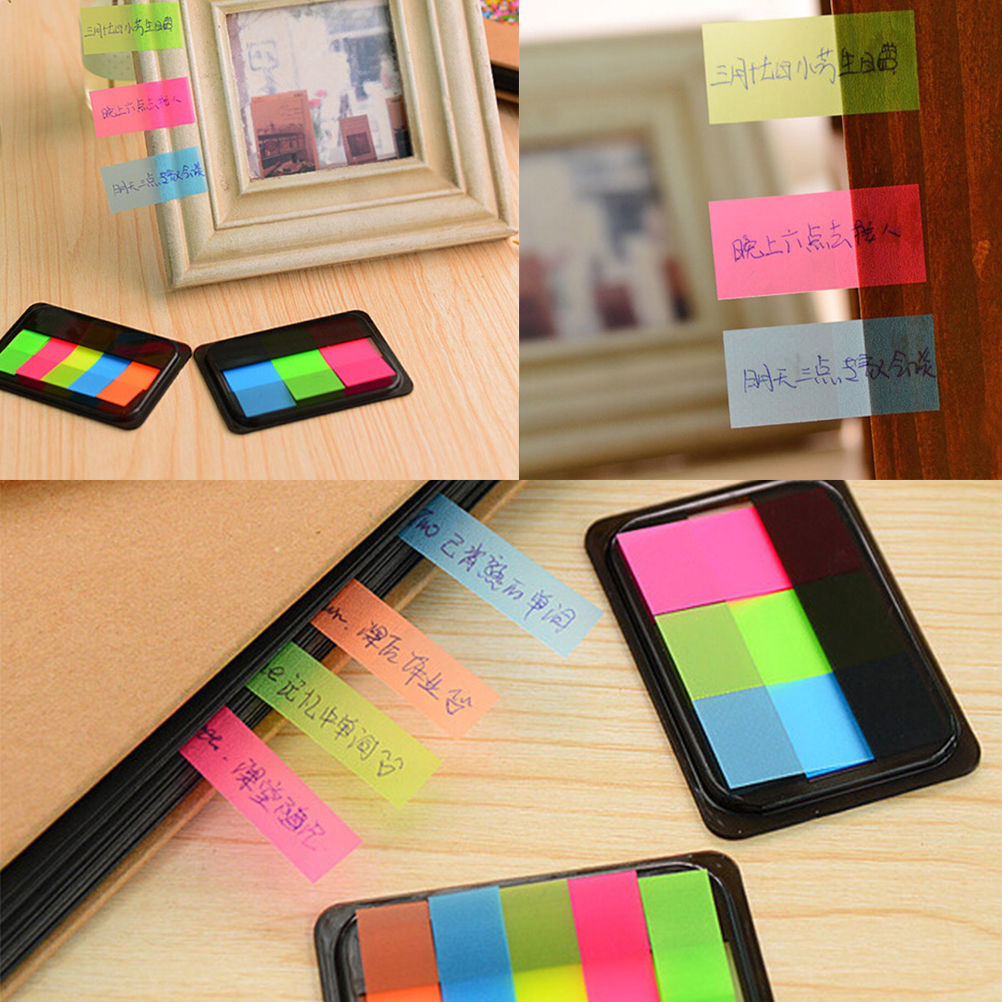 Paper Sticker Post It Bookmark Point It Marker Memo Flags Sticky Notes Index Pad Tab Sticky Notes Label(China (Mainland))