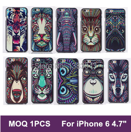 Arrive Promotion Painted Case iPhone 6 Brilliant Colours hard back cover case Iphone6 4.7 Inch Free Ship - MaxGear official Store store