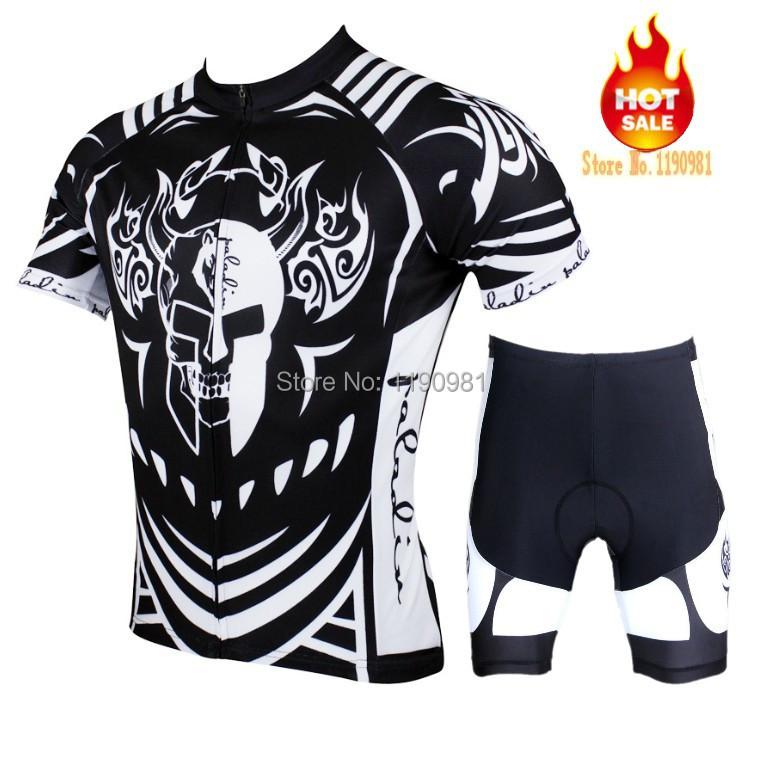 Hot sale 2015 New Paladin Flash Black Knight summer men's cool cycling jersey Cycle Jersey Short Sleeve Bike Jersey(China (Mainland))