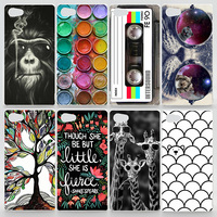 Case For Sony Xperia Z5 Compact E5803 E5823 Colorful Printing Drawing Plastic Cover for Sony Z5 Mini Hard Phone Cases