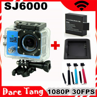 "Original SJ6000 wifi Sport Action Camera 30M Waterproof Sport DV Action Camera 12MP 1080P Full HD 2.0""LCD Diving go pro style"