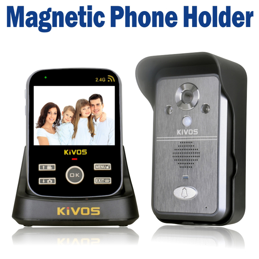 3.5 Inch Wireless Video Door Phone PIR Motion Detection Micro SD Card Night Vision Photo Taking(China (Mainland))
