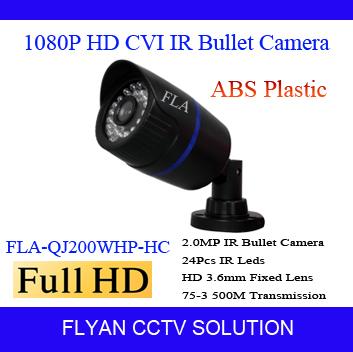 HDCVI Camera 2MP 1080P Outdoor 20m IR Distance Realtime Transmission Wide Angle 3.6mm Lens CCTV HD CVI Bullet Camera ABS Plastic<br><br>Aliexpress