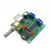 Buy Small 5 v power amplifier ac/dc USB power supply power amplifier PM2038 amplifier board 5 wx2 high-fidelity finished board for $3.54 in AliExpress store
