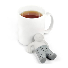 New Funny Cute Mr. Tea Infuser / Mr. Tea Tea Strainers Relaxing Life quality first 1pcs