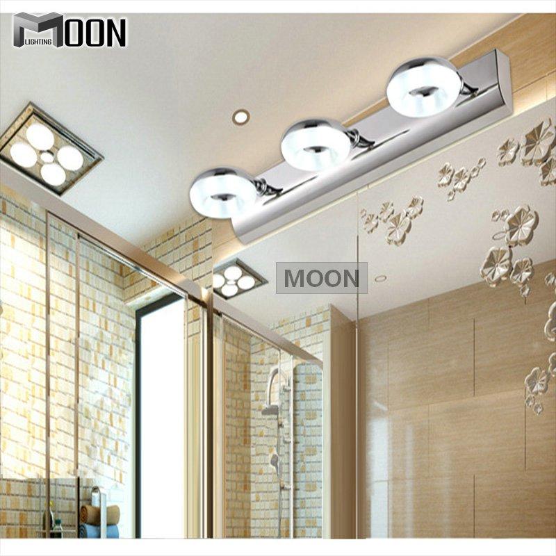 led mur luminaire salle de bains lumi re miroir moderne mur lampe pour toilettes dressing led 6. Black Bedroom Furniture Sets. Home Design Ideas