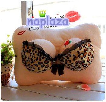 Free shipping Sexy Lovely bosomy  Plush Pillow