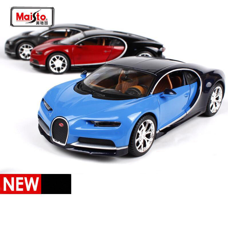Maisto Bugatti Chiron 1:24 Scale Diecast Car Model Toys Alloy High Quality Collection Toys Gift For Children FreeShipping(China (Mainland))