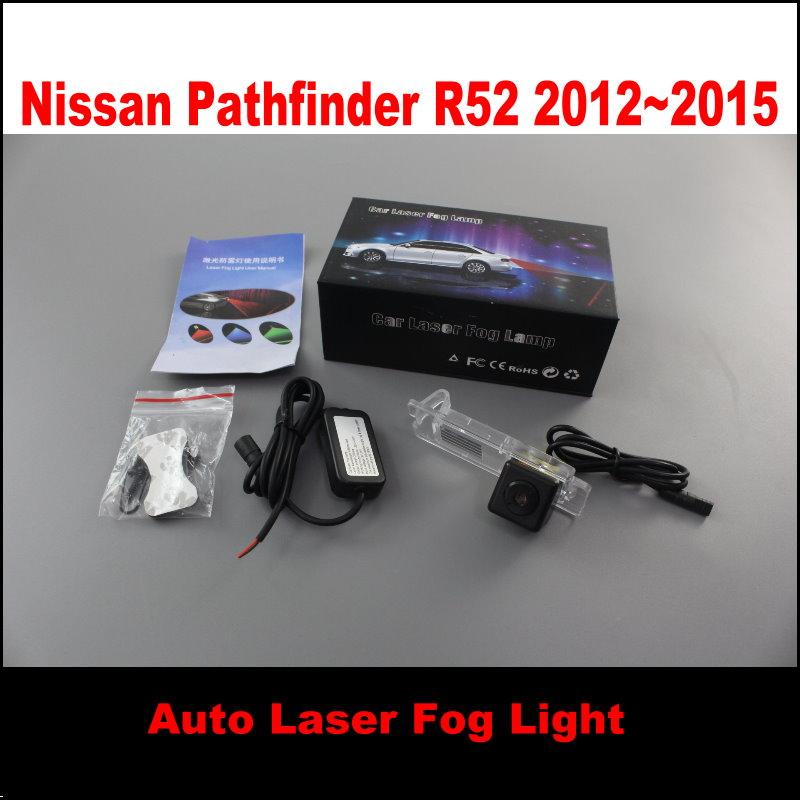 Cars Laser Lights Super Fog Lamps Night Snow Rain,Haze Dust Storm Weather Anti-Collision Warning Light / For Nissan Pathfinder