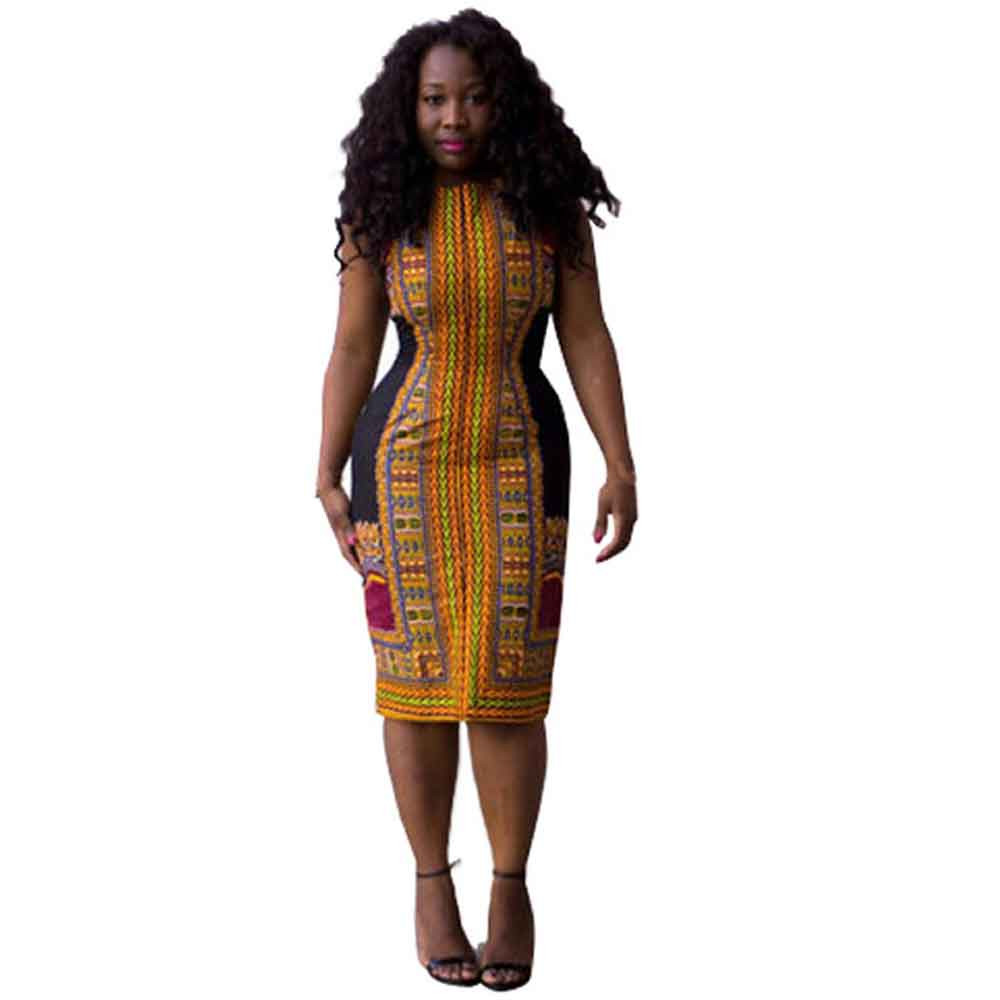 African Print Straight Dress Styles Promotion Shop For Promotional African Print Straight Dress