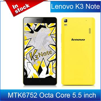 """100% первоначально Lenovo K3 примечание K50-T5 4 г FDD LTE MTK6752 Octa основной мобильный телефон 5.5 """" Android 5.0 леденец 2 ГБ RAM 13.0MP / Avil"""