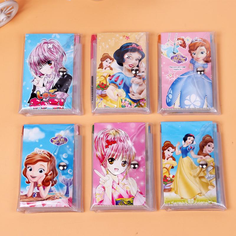 Animation notebook cute caderno girl sketchbook material escolar dokibook cuadernos agenda 2016 journal personal diaries(China (Mainland))