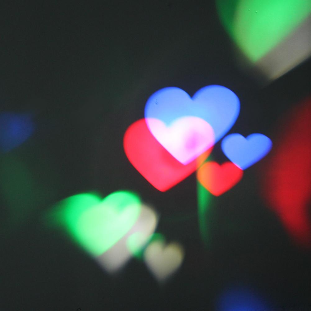 Stage Laser Lighting Heart LED Christmas Projector Light for DJ KTV Pub Disco Stage Lighting Effect Festival Lamp #LO