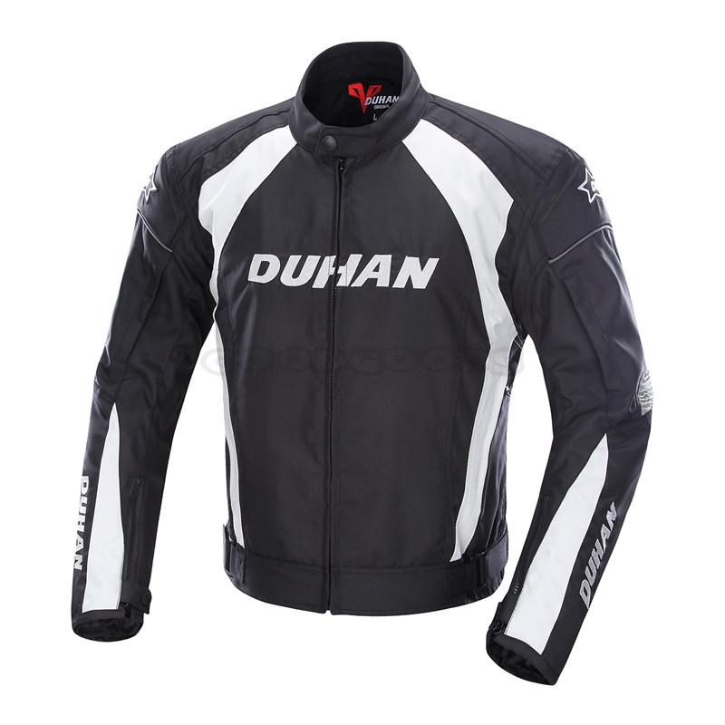 DUHAN Mens Motocross Off-Road Racing Sports Jacket Clothing with Five Protector Guards Motorcycle Windproof Riding Jaqueta<br><br>Aliexpress