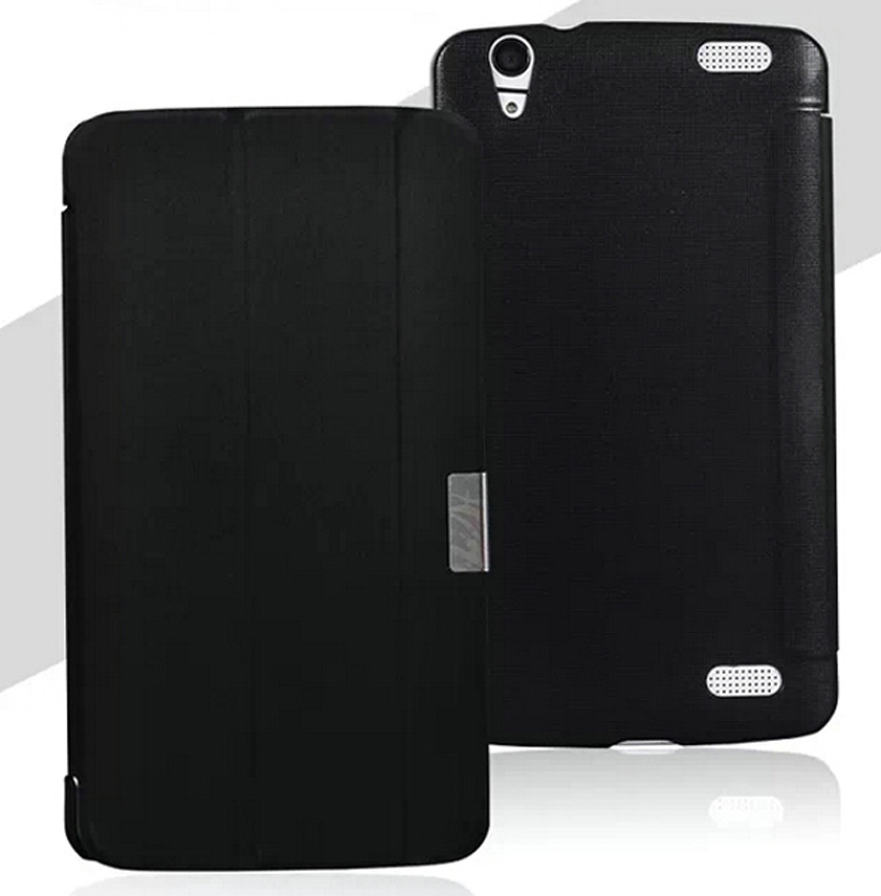"""3-Folding Luxury Ultra Thin Slim Folio Stand Leather Case Protective Sleeve Cover For HP Slate 7 Voice Tab 7.0 7"""" 7inch Tablet(China (Mainland))"""