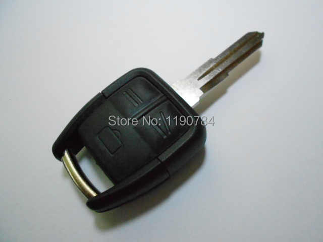 Opel Astra g h J Zafira Vectra Insignia Mokka Corsa 3 Buttons Replaced Straight Car Key Shell Blank Groove Blade - ANYTIME ANYWHERE store