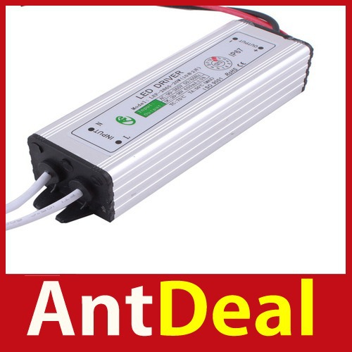 Wonderful! antdeal 20W High Power LED Driver Power Supply AC90V-265V Waterproof IP67 Save up to 50% New fashional(China (Mainland))