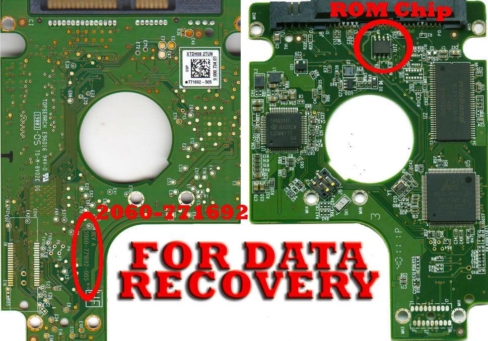 Free Shipping PCB 2060-771692-005 for Western Digital Hard drive WD10TPVT-00U4RT1 / HBMTJBNB/ Logic Board(China (Mainland))