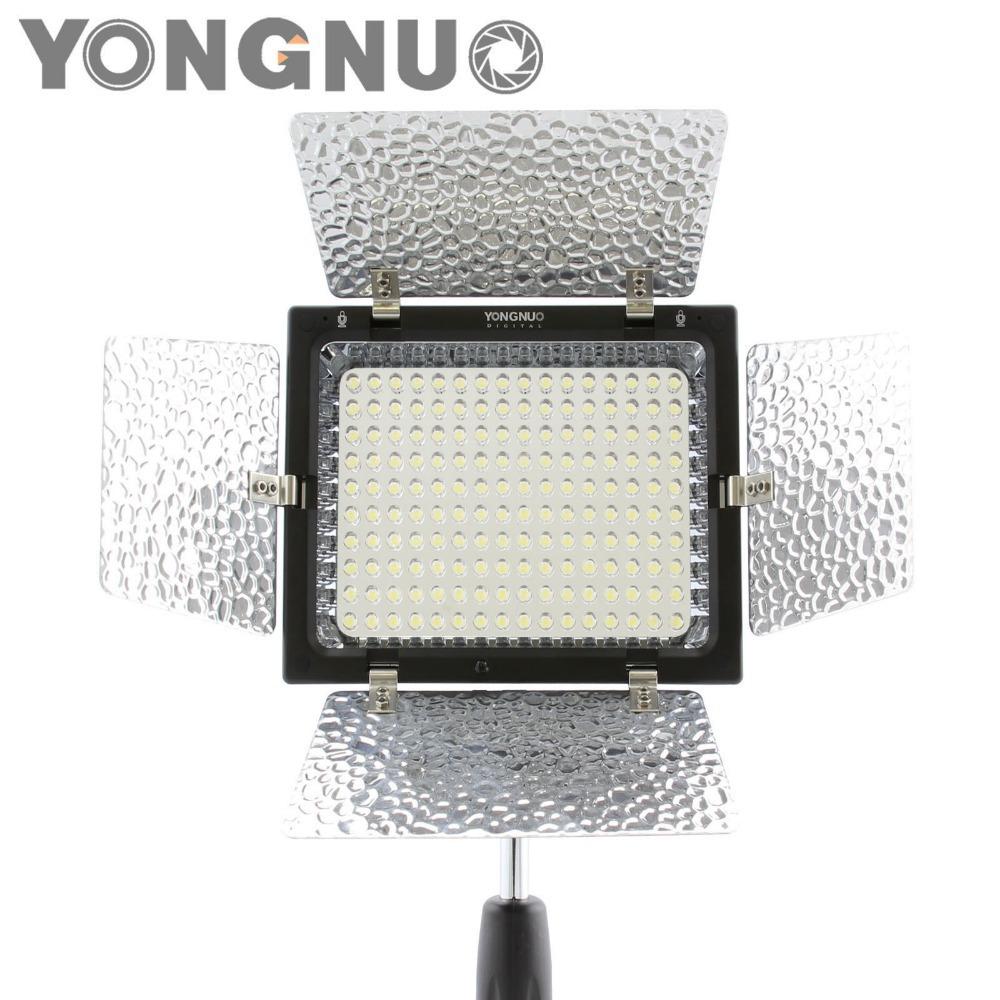 Фотография Yongnuo YN-160 II LED Video Light Lamp for Canon 650D 5D Mark II 6D 7D 60D for Nikon D5300 D5200 D3100 D800 D610