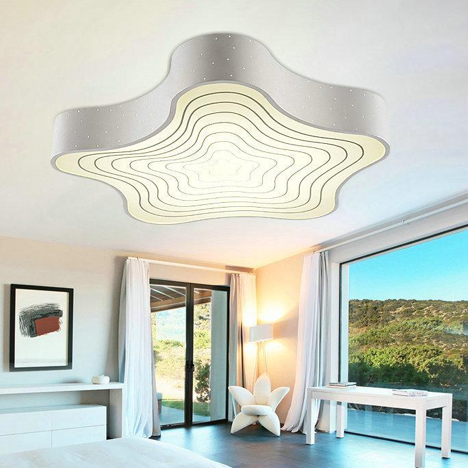 led flush mount ceiling lamp lighting fixture for living room bed room