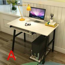 Desktop home computer desk simple modern desk  assembly notebook computer desk (China (Mainland))