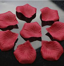 Big Size Non Woven Fabric Rose Petal Wedding Decorations Artificial Flowers Rose Petals petalos de rosa de boda 400pcs/lot(China (Mainland))