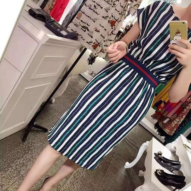 Vestidos Direct Selling Sexy & Club Bud Print Short Regular Natural Vestido De Festa 2015 New Dress Korean Waist Color Bars(China (Mainland))