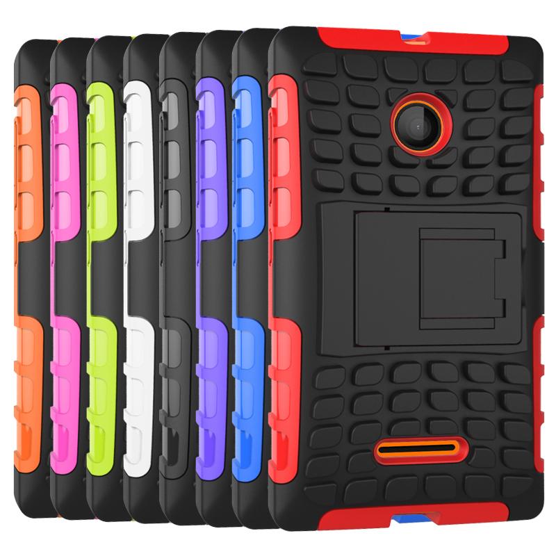 For microsoft nokia lumia 435 case hybrid kickstand rugged for 11 435